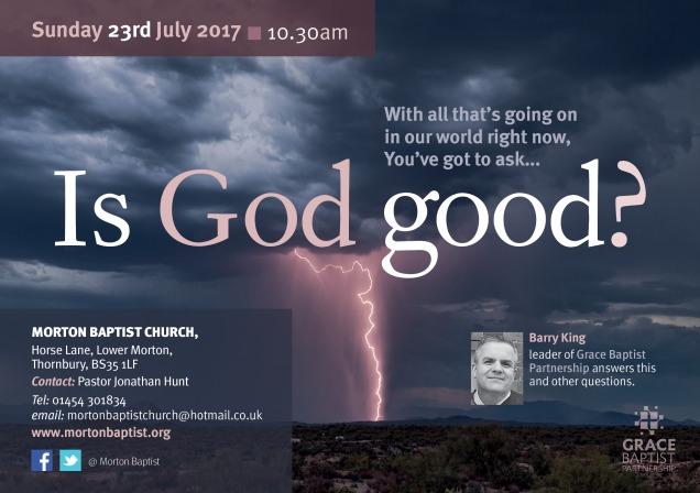 GBP Is God Good -Thornbury