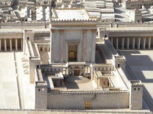 Herod's Temple - Museum of Jerusalem Model